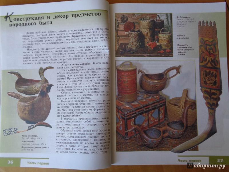 Учебник изо 5 класс фгос