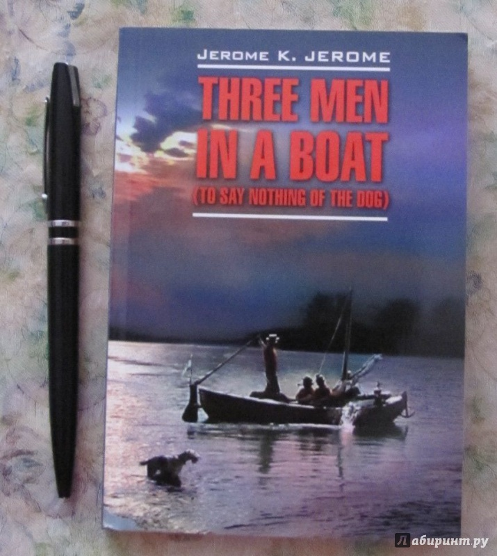 three men in a boat 4 essay