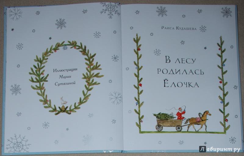 Иллюстрация 11 из 61 для В лесу родилась ёлочка - Раиса Кудашева | Лабиринт - книги. Источник: Книжный кот