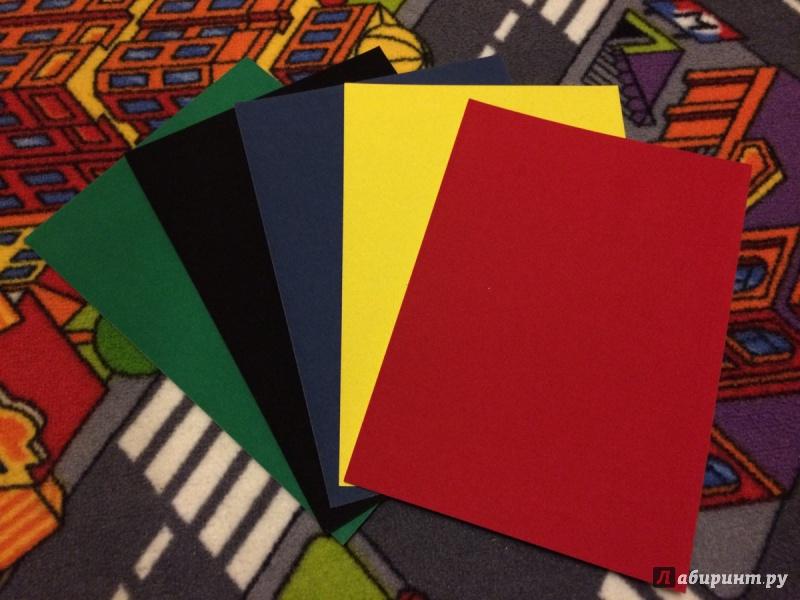 Иллюстрация 1 из 2 для Картон цветной бархатный. 5 листов. 5 цветов. А5 (918089-05) | Лабиринт - канцтовы. Источник: Виктория Палийчук