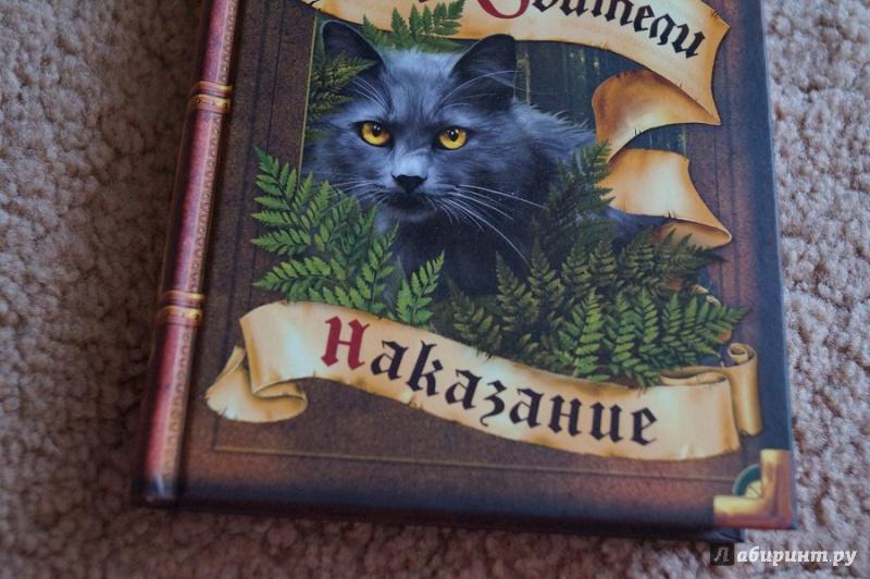 Коты воители тайны щербатой наказание