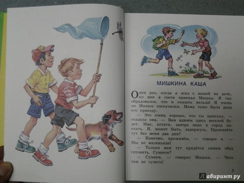 Иллюстрация 36 из 43 для Мишкина каша - Николай Носов | Лабиринт - книги. Источник: Olga