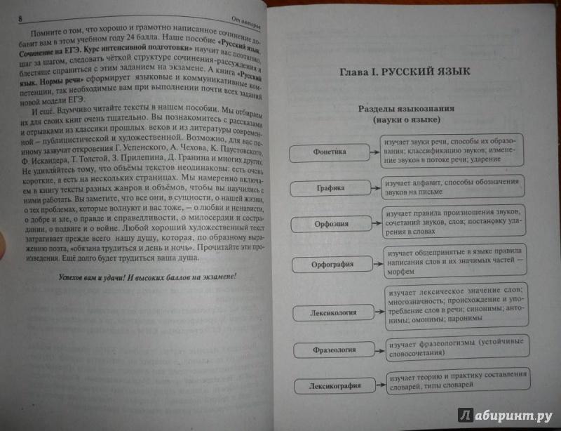 Сенина русский язык подготовка к егэ 2016 ответы онлайн