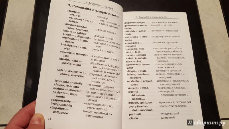 настоящее время фразы на итальянском языке телефоны