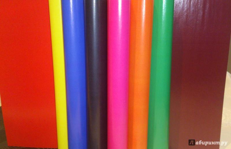Иллюстрация 1 из 4 для Бумага цветная двухсторонняя мелованная А4 (8 листов, 8 цветов) (TZ 10113) | Лабиринт - канцтовы. Источник: labisu