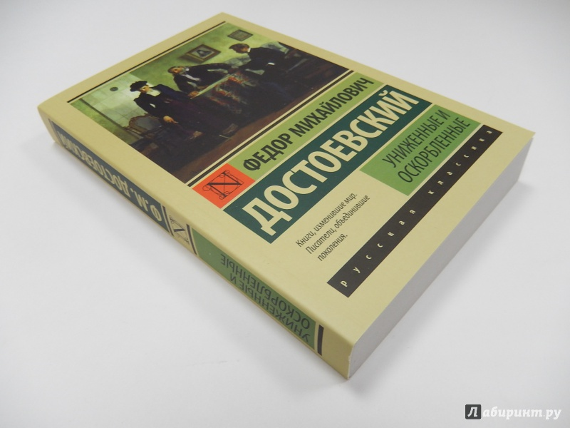 Книга достоевского униженные и оскорбленные скачать