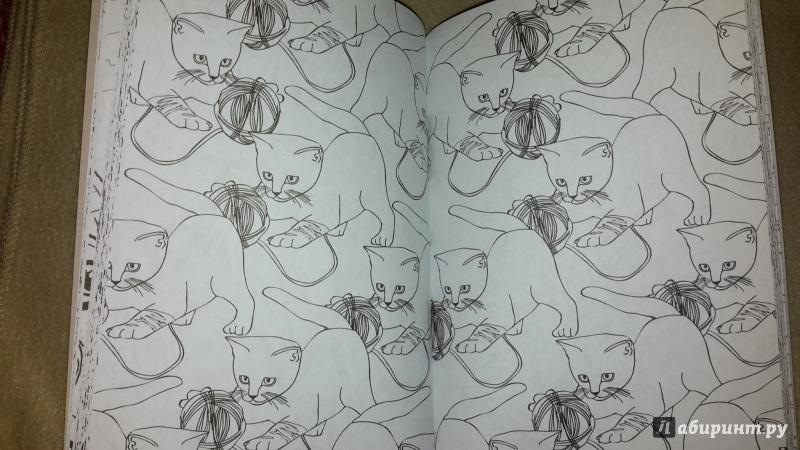 Иллюстрация 21 из 84 для Кототерапия. Мини-раскраска-антистресс для творчества   Лабиринт - книги. Источник: Маруся