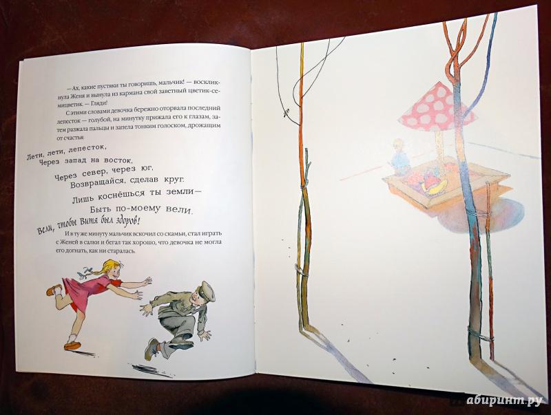 Иллюстрация 20 из 41 для Цветик-семицветик - Валентин Катаев | Лабиринт - книги. Источник: nata_romina