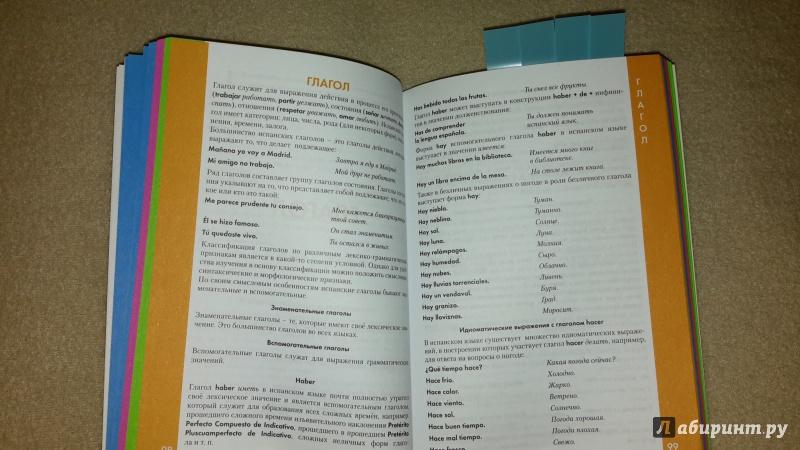 Иллюстрация 11 из 14 для Испанский язык. Справочник по грамматике | Лабиринт - книги. Источник: Маруся