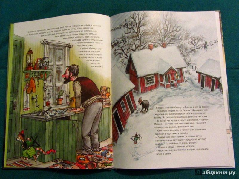 Иллюстрация 47 из 85 для Рождество в домике Петсона - Свен Нурдквист | Лабиринт - книги. Источник: Могош  Михаил