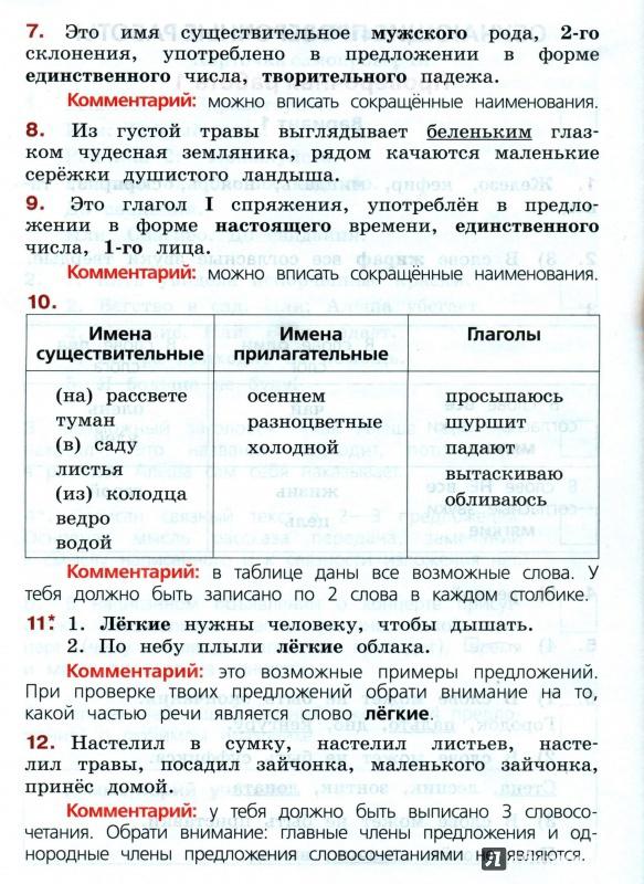 Гдз по всероссийской проверочной работе 4 класс по русскому языку