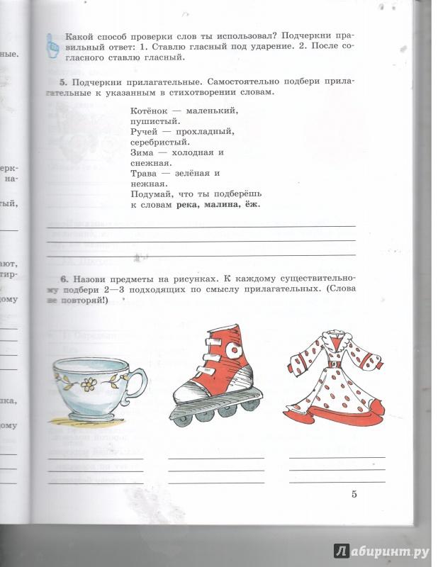 Иллюстрация 1 из 5 для Русский язык. 5-9 классы. Рабочая тетрадь. Часть 3. Имя прилагательное - Галунчикова, Якубовская | Лабиринт - книги. Источник: Никед