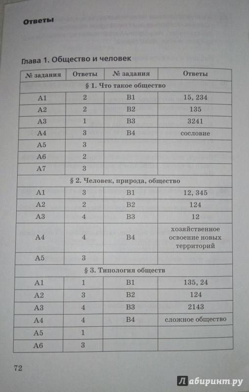 Тесты по обществознанию 9 класс с ответами боголюбов
