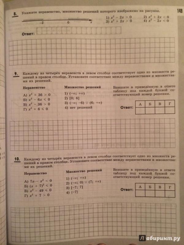 Книга Я сдам ЕГЭ! Математика Рабочая тетрадь Базовый