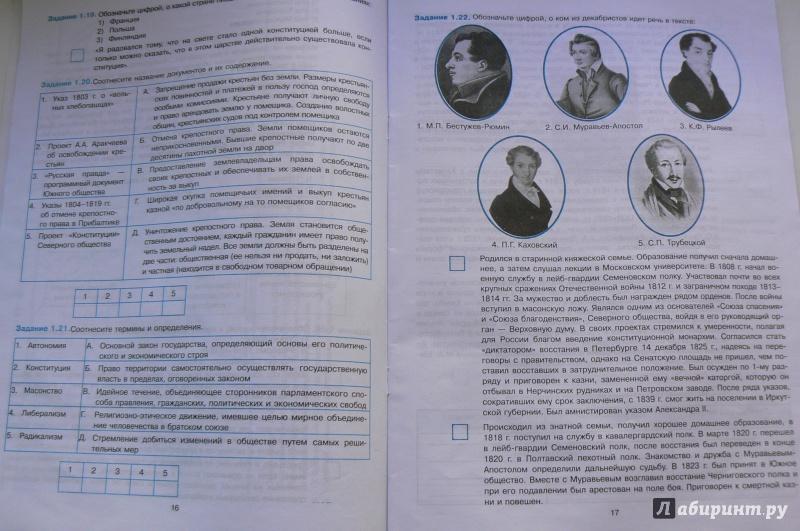 Симонова история класс гдз по россии 6