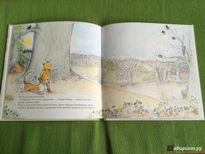 Иллюстрация 24 из 45 для Весна мишки Бруно - Гунилла Ингвес | Лабиринт - книги. Источник: Сан Санна