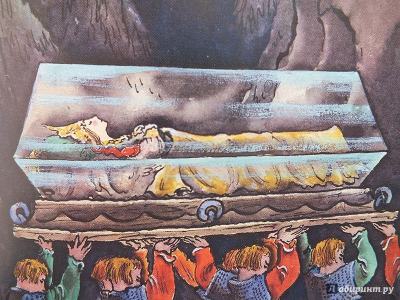 сказка о мертвой царевне и о семи богатырях фото