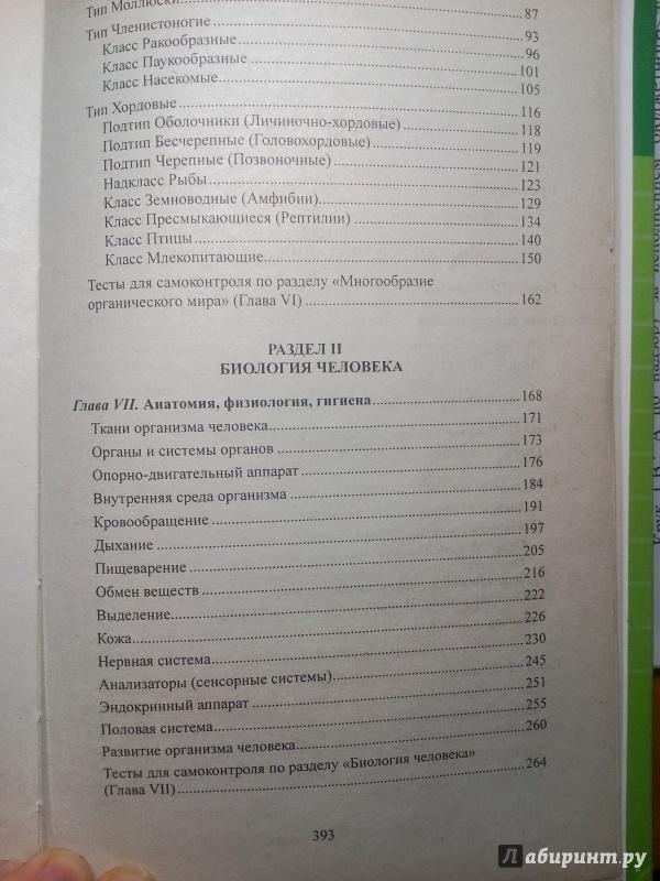 Биология в таблицах схемах и рисунках заяц