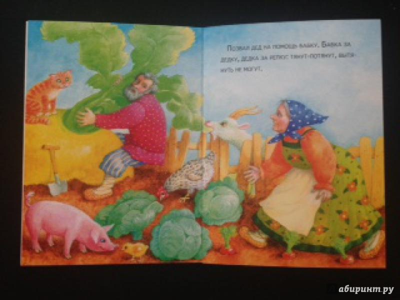 Иллюстрация 33 из 61 для Маленькие сказочки. Репка. Курочка Ряба | Лабиринт - книги. Источник: A.Strelnikova