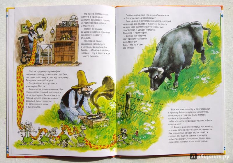 Иллюстрация 33 из 49 для Именинный пирог - Свен Нурдквист | Лабиринт - книги. Источник: Greol