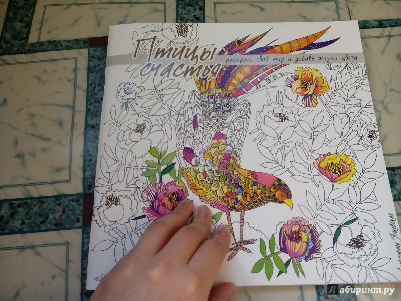 Иллюстрация 38 из 50 для Птицы счастья. Раскрась свой мир и добавь жизни цвета | Лабиринт - книги. Источник: Костюк  Анастасия