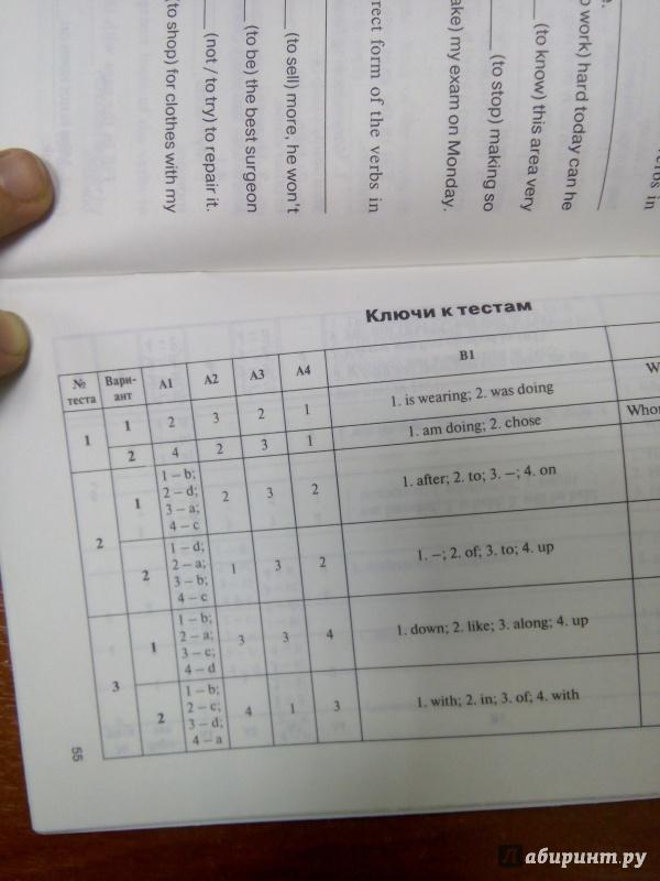 из для Контрольно измерительные материалы Английский язык  Девятая иллюстрация к книге Контрольно измерительные материалы Английский язык 9 класс ФГОС