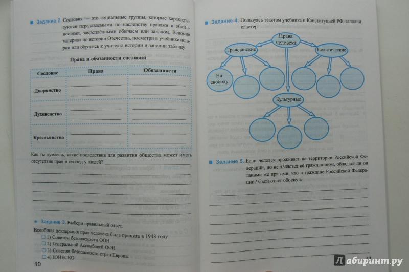 Решебник К Рабочей Тетради По Обществознанию 6 Класс Боголюбова