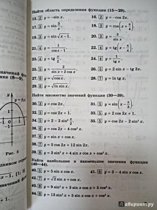 10 материалам гдз шабунин по дидактическим по алгебре