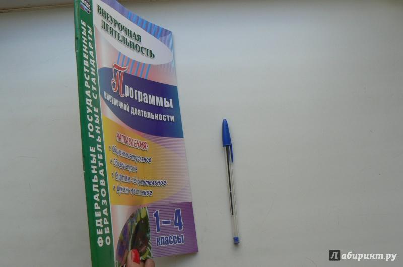 Иллюстрация 1 из 4 для Программы внеурочной деятельности. 1-4 классы. ФГОС - Васюкова, Шаповалова | Лабиринт - книги. Источник: Марина