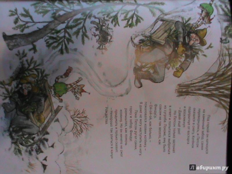 Иллюстрация 55 из 85 для Рождество в домике Петсона - Свен Нурдквист   Лабиринт - книги. Источник: Калачиков  Юрий Александрович