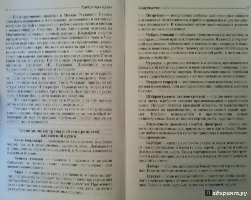 Иллюстрация 3 из 7 для Кавказская кухня - Владимир Хлебников | Лабиринт - книги. Источник: SiB