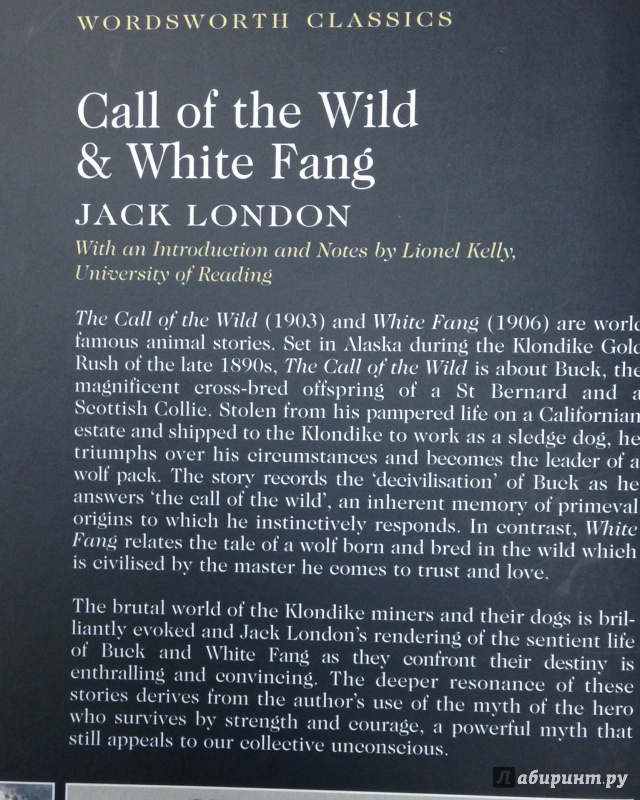 the use of symbolism meaning and detail in white fang by jack london Call of the wild study guide contains a biography of call of the wild by jack london millman, china ed call of the wild themes gradesaver, 20 july 2006.
