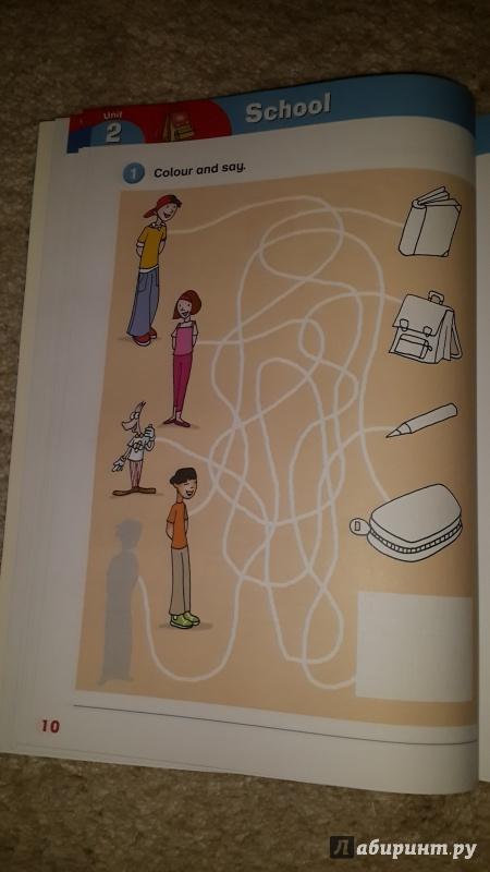 Иллюстрация 10 из 20 для Playway to English 1. Activity Book (+CD) - Gerngross, Puchta | Лабиринт - книги. Источник: julchonok
