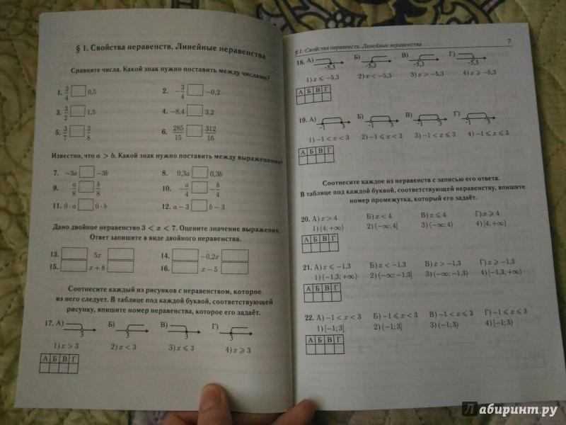 Иллюстрация 4 из 14 для ЕГЭ. Математика. 10-11 классы. Неравенства. Тренажёр. Профильный уровень - Лысенко, Коннова, Дерезин | Лабиринт - книги. Источник: Mindsweeper