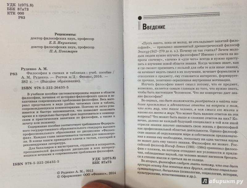 Философия в схемах и таблицах руденко а. М. , купить c быстрой.