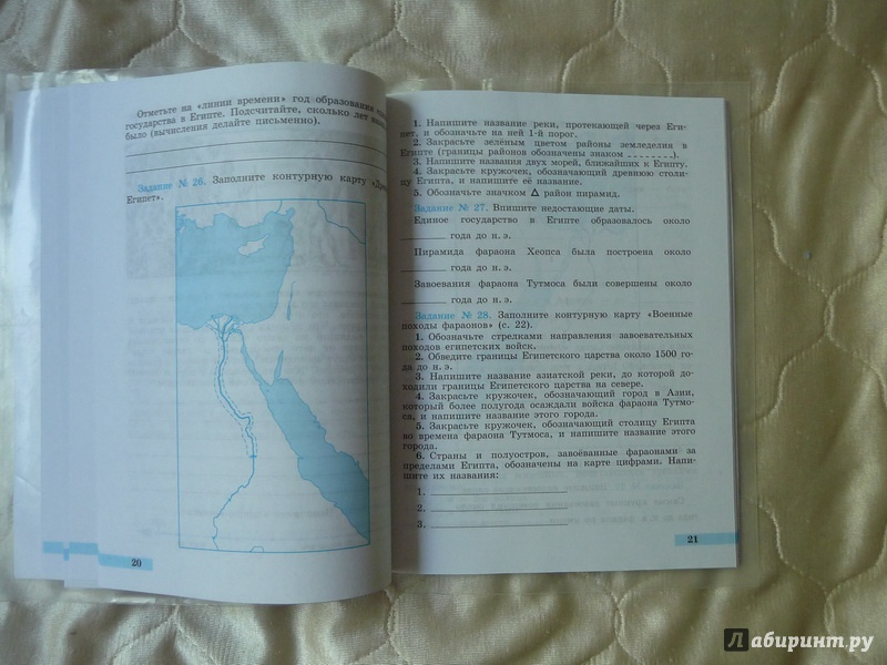 По истории тетради для печатной решебник