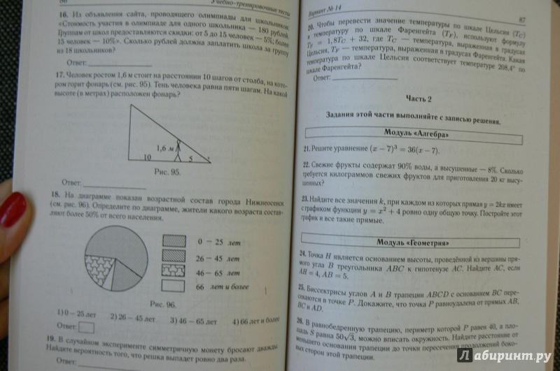 класс математике 2019 гдз 9 огэ решение по лысенко