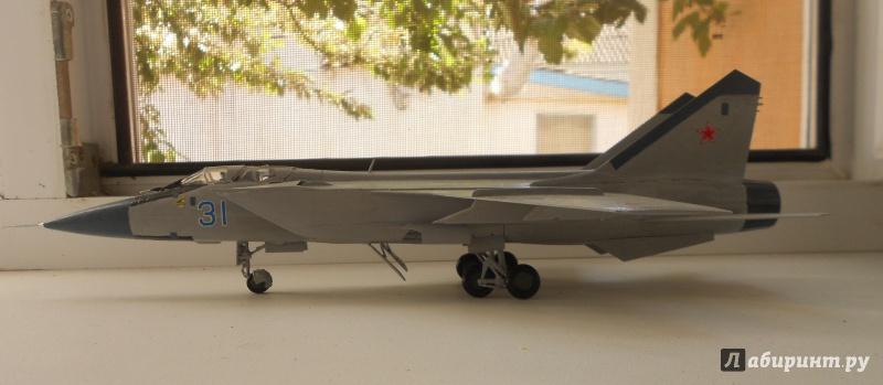 Иллюстрация 1 из 4 для Советский истребитель-перехватчик МиГ-31 | Лабиринт - игрушки. Источник: Лабиринт