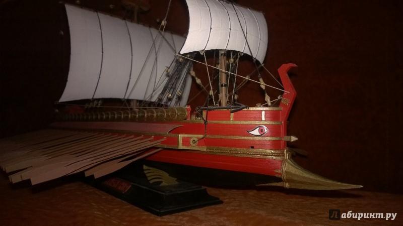Иллюстрация 1 из 4 для Карфагенский боевой корабль (9030) | Лабиринт - игрушки. Источник: Garik