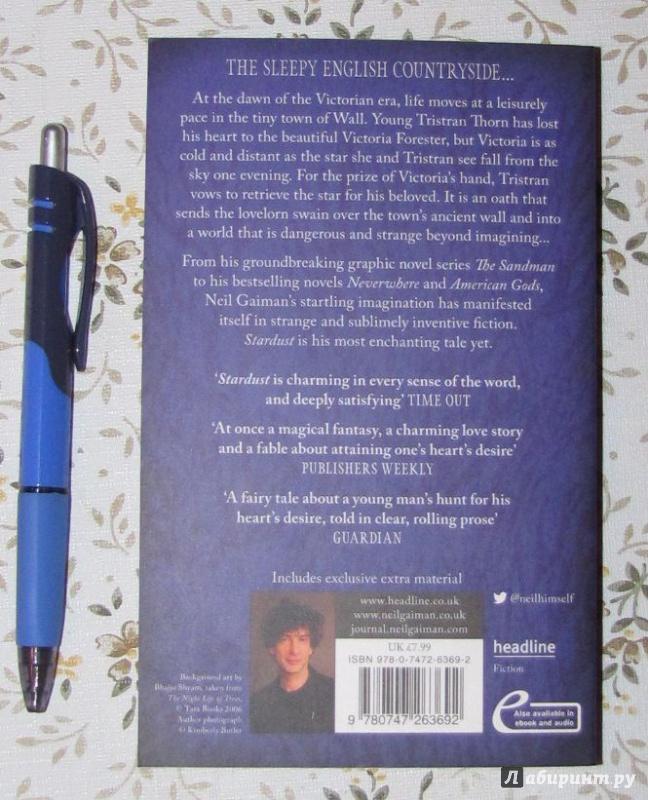 Иллюстрация 4 из 12 для Stardust - Neil Gaiman | Лабиринт - книги. Источник: V  Marisha