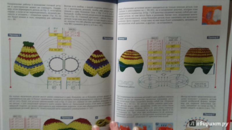 Иллюстрация 13 из 21 для Конструктор вязаных игрушек ...