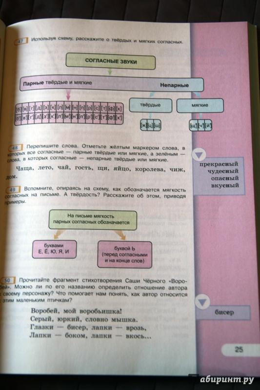 Языку учебника по русскому рыбченкова часть 5 гдз 2