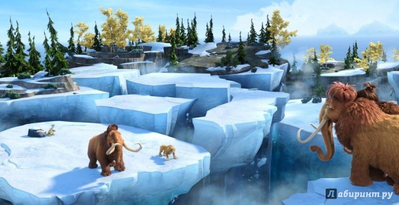 Иллюстрация 1 из 5 для Ледниковый период 4. Континентальный дрейф (DVD) - Мартино, Термайер   Лабиринт - видео. Источник: )  Катюша