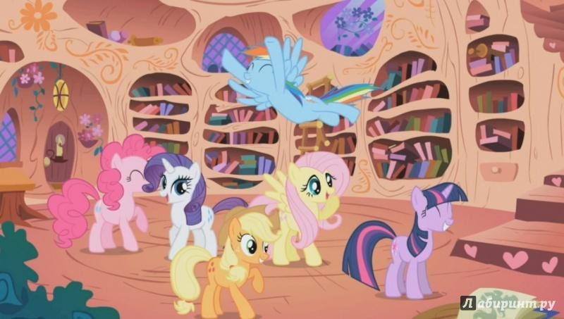 Иллюстрация 1 из 5 для Мой маленький пони. Полная коллекция. Сезон 2 (6DVD) - Тиссен, Вуттон   Лабиринт - видео. Источник: )  Катюша