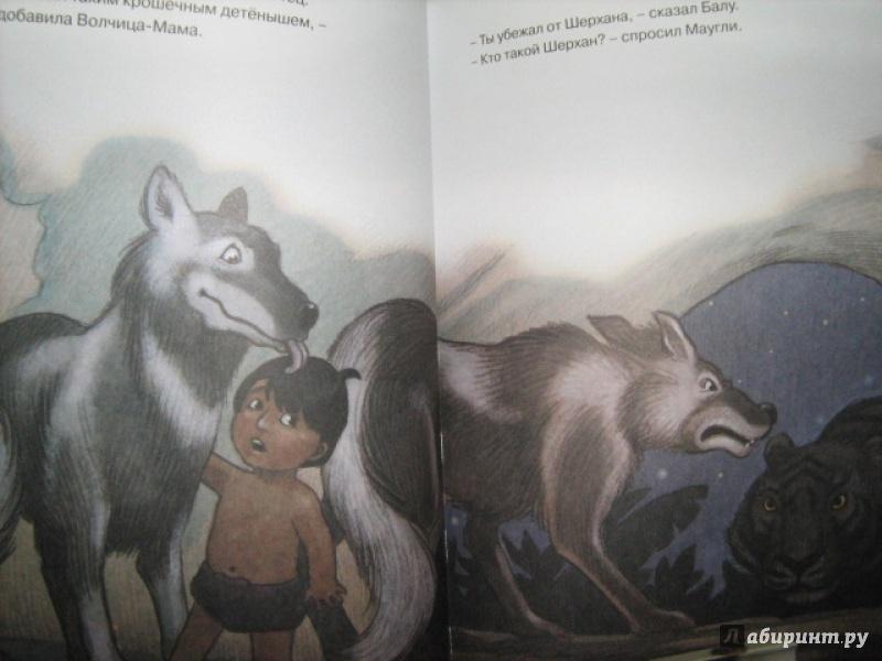 Иллюстрация 1 из 4 для День рождения Маугли - Редьярд Киплинг   Лабиринт - книги. Источник: Finese