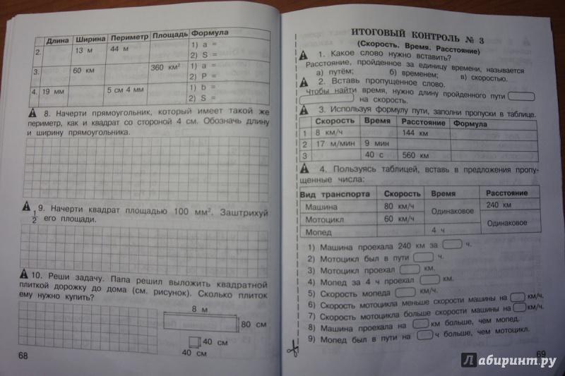 Экспресс Контроль Рябова Математика 5-6 Класс Решебник 2019