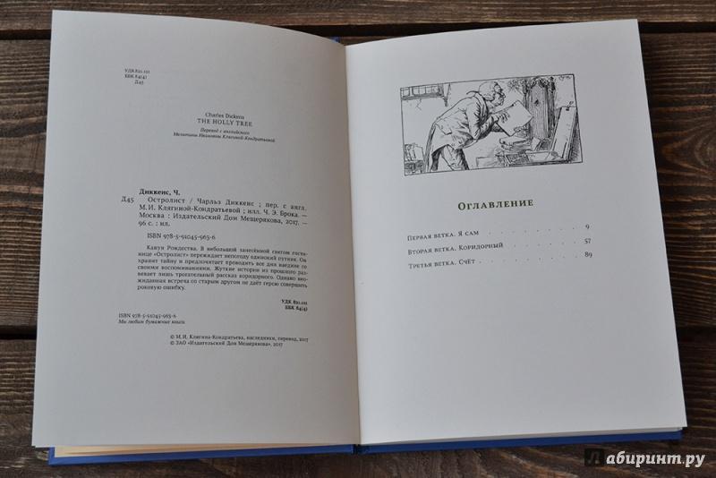 Иллюстрация 13 из 34 для Остролист - Чарльз Диккенс   Лабиринт - книги. Источник: Симонова  Ирина Викторовна