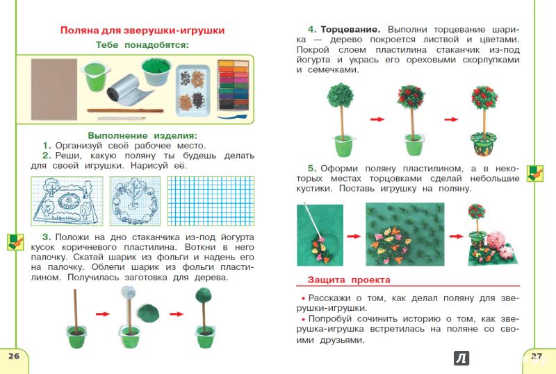 Иллюстрация 1 из 5 для Технология. 1 класс. Тетрадь проектов. ФГОС - Роговцева, Анащенкова, Шипилова | Лабиринт - книги. Источник: Mary