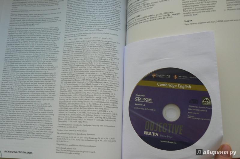 Cambridge Objective Ielts Advanced Students Book