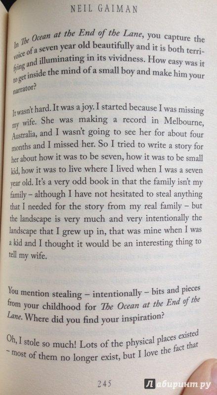 Иллюстрация 14 из 18 для Ocean at the End of the Lane - Neil Gaiman | Лабиринт - книги. Источник: Лабиринт